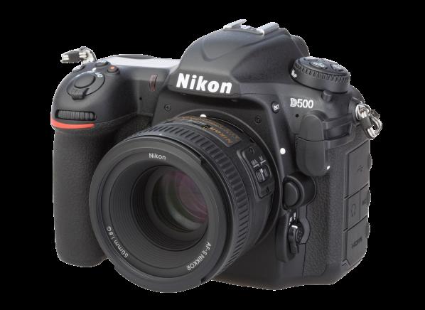 Nikon D 500 w/ AF-S 50mm 1:1.8G camera