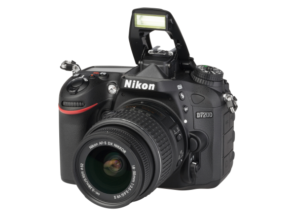 Nikon D7200 w/ 18-55mm camera
