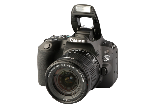 Canon EOS 200D Rebel SL2 w/ 18-55mm IS STM camera - Consumer Reports