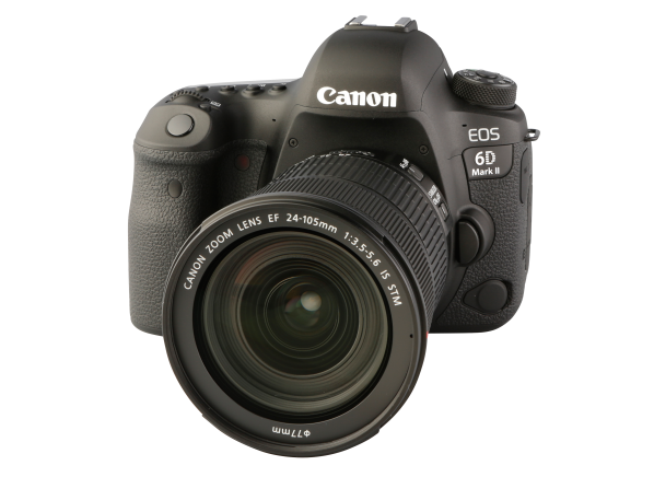 Canon EOS 6D Mark II w/ 24-105mm IS STM camera