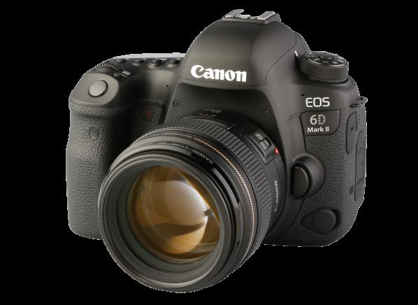 Canon EOS 6D Mark II w/ EF 85mm camera