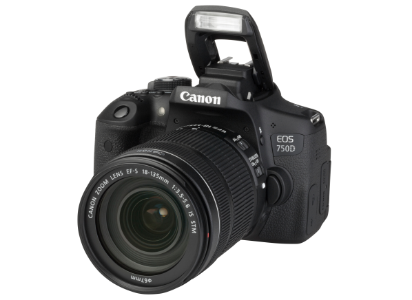 Canon EOS 750D Rebel T6i w/ 18-135mm IS STM camera