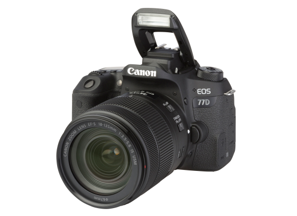 Canon EOS 77D w/ 18-135mm IS STM camera