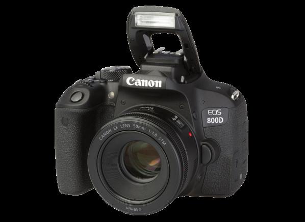 Canon EOS 800D Rebel T7i w/ 50mm camera
