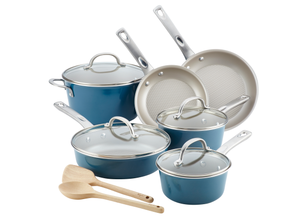 Ayesha Curry Home Collection Porcelain Enamel Nonstick cookware