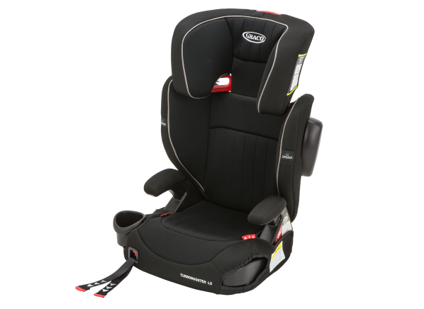 Graco Turbobooster LX with Trueshield car seat