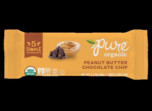 Pure Organic Peanut Butter Chocolate Ancient Grain & Nut Crispy Bar healthy snack