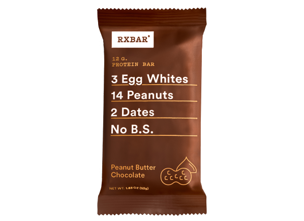 RxBar Protein Bar Peanut Butter Chocolate healthy snack