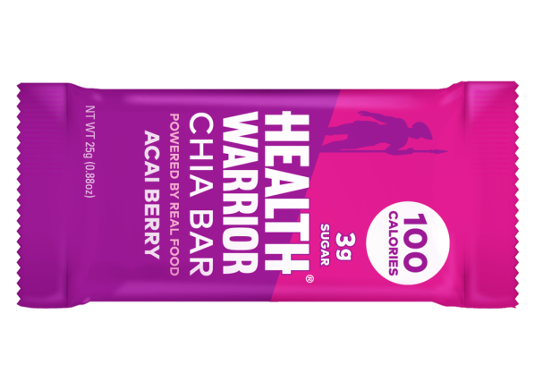 Health Warrior Chia Bar Acai Berry healthy snack
