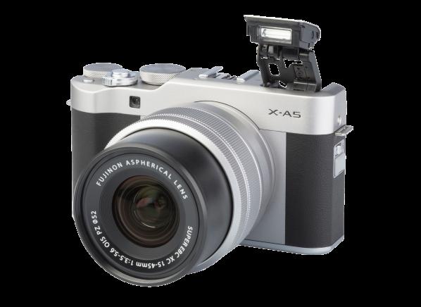 Fujifilm X-A5 w/ 15-45mm OIS PZ camera