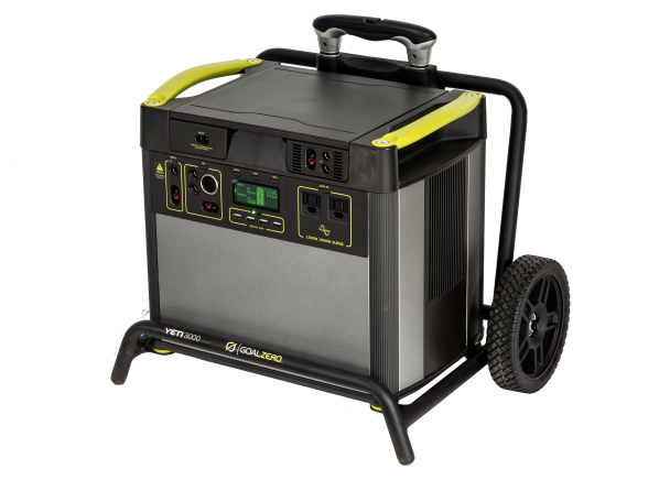 Goal Zero Yeti 3000 generator