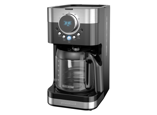 Black+Decker Select-A-Size Easy Dial Programmable, Stainless Steel/Black, CM4200S coffee maker