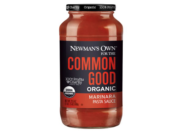 Newman's Own For the Common Good Organic Tomato Basil pasta sauce