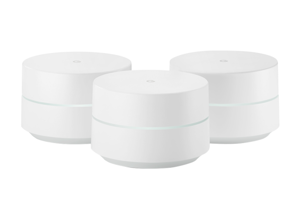 Google Wifi AC1200 Dual-Band Whole Home (3-pack) wireless router