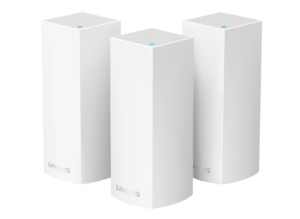 Linksys Velop Whole Home AC6600 Tri-band Mesh (3-pack) wireless router