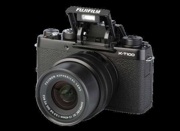Fujifilm X-T100 w/ 15-45mm camera