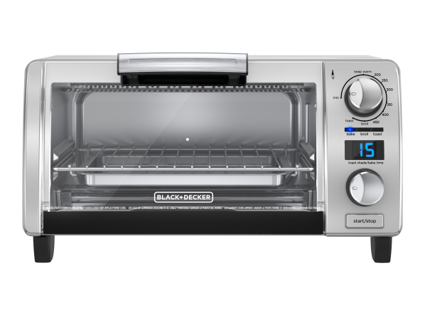 Black+Decker TOD1770G 4-slice convection Digital toaster oven
