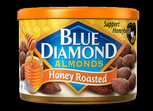 Blue Diamond Honey Roasted Almonds healthy snack