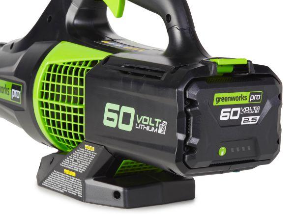 Greenworks Bl60l2510 Leaf Blower Consumer Reports