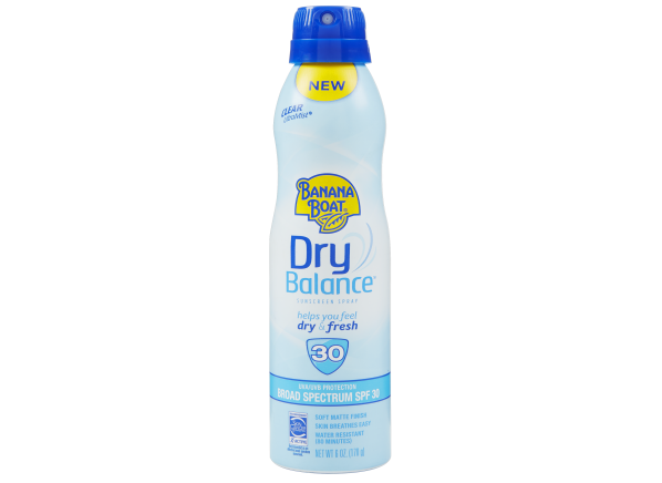 Banana Boat Dry Balance Spray SPF 30 sunscreen