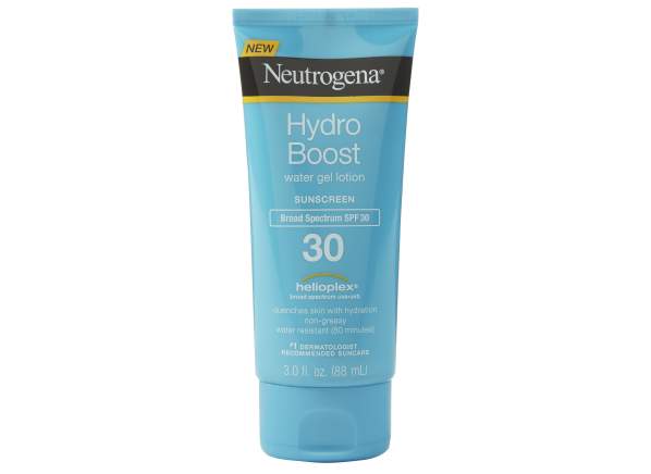 Neutrogena Hydro Boost Water Gel Lotion SPF 30 sunscreen