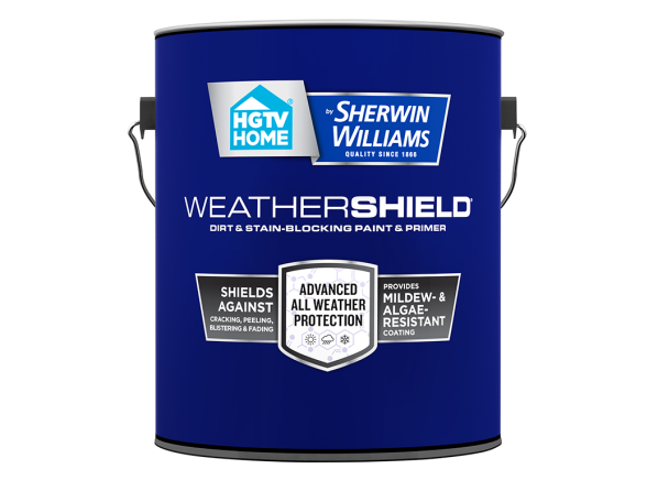 HGTV Home by Sherwin-Williams WeatherShield paint