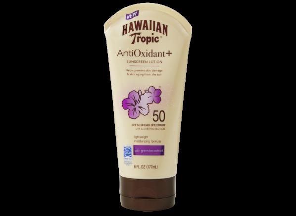 Hawaiian Tropic Antioxidant + Sunscreen Lotion SPF 50