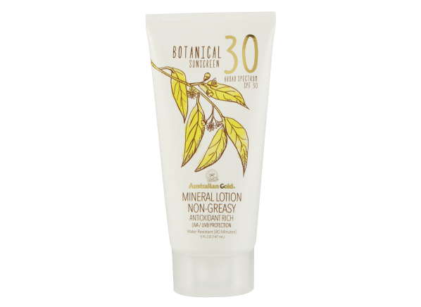 Australian Gold Botanical Mineral Lotion SPF 30 sunscreen
