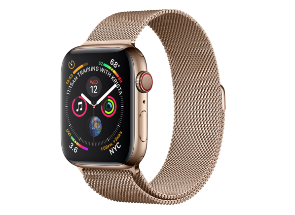 Apple Watch Series 4 (40mm) Stainless Steel case GPS + Cellular smartwatch
