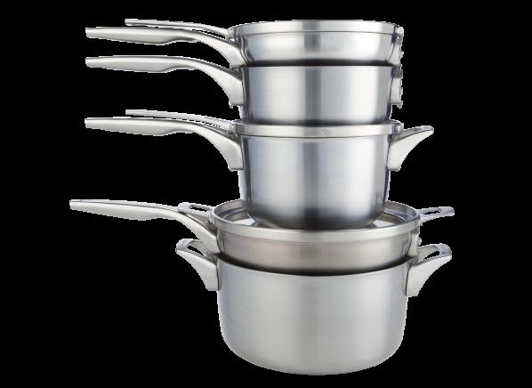 Calphalon Premier Space Saving 8 piece cookware
