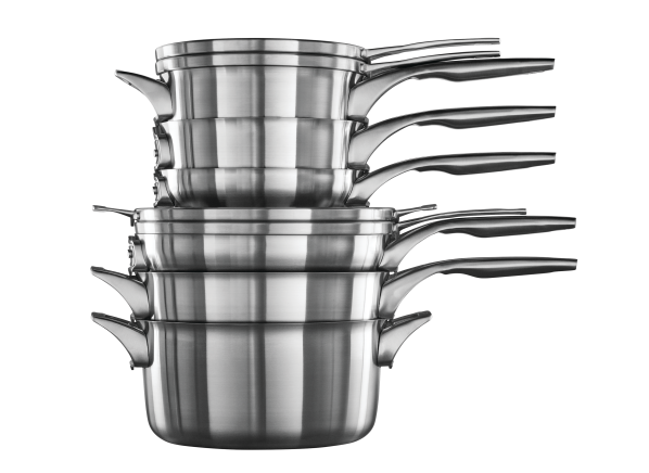 Calphalon Premier Space Saving 10 piece cookware