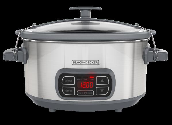 Black+Decker Digital Programmable SCD1007 slow cooker