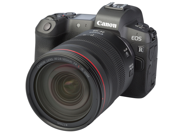Canon EOS R w/ 24-105 IS USM camera