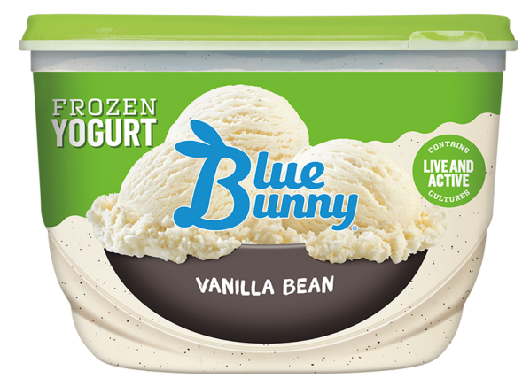 Blue Bunny Frozen Yogurt Vanilla Bean