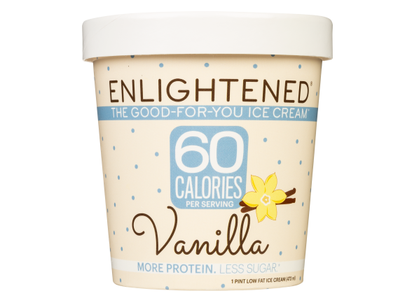 Enlightened Lowfat Ice Cream Vanilla