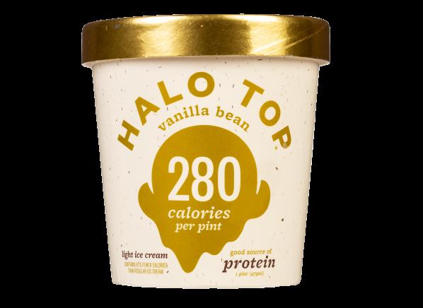 Halo Top Light Ice Cream Vanilla Bean