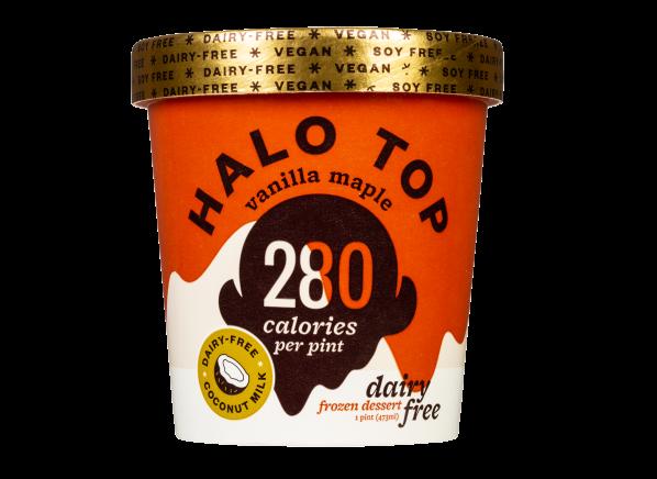 Halo Top Dairy Free Frozen Dessert Vanilla Maple