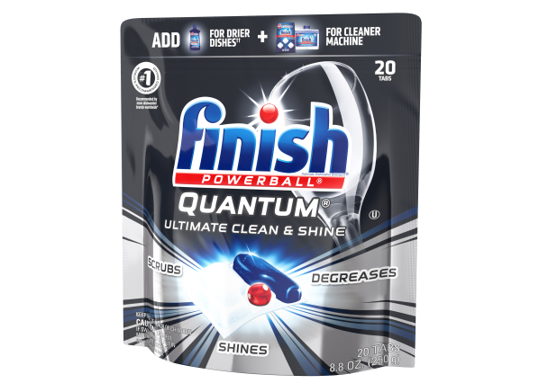 Finish Powerball Quantum dishwasher detergent