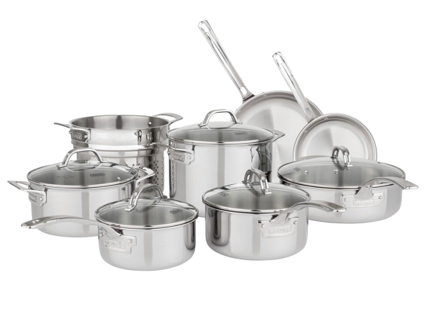 Viking Tri Ply Clad Sam S Club Cookware Consumer Reports