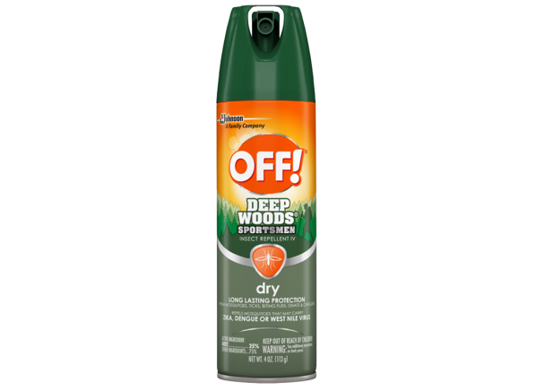 Off Deep Woods Sportsmen Insect Repellent IV Dry