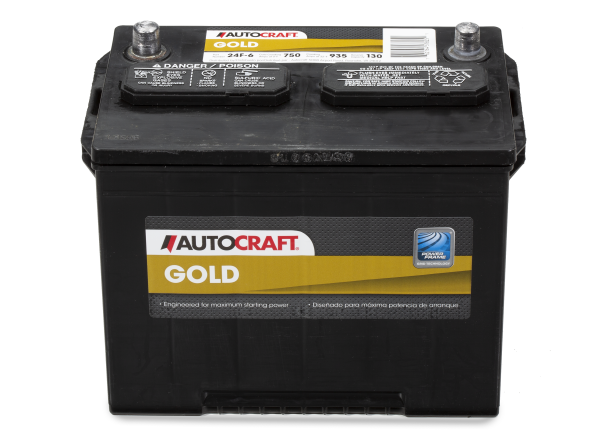 Autocraft Gold 24F-6 car battery