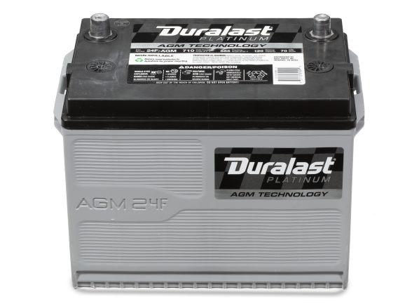 Duralast Platinum 24F-AGM car battery