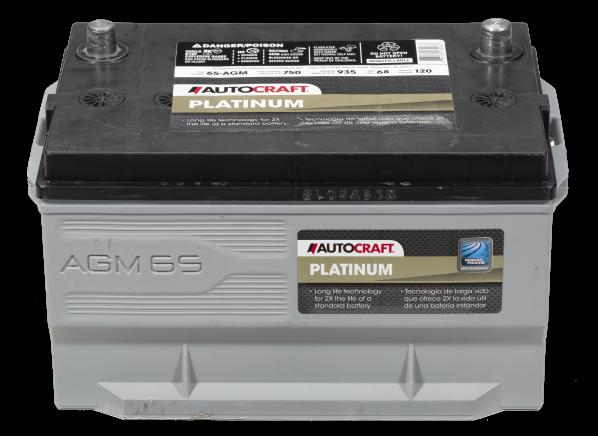 Autocraft Platinum 65 AGM car battery