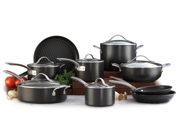 Kirkland Signature Costco Hard Anodized Cookware