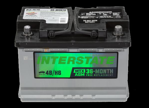 Interstate MTX-48/H6 car battery