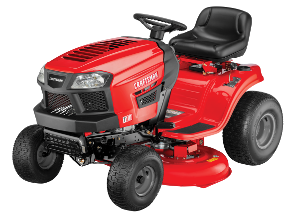 Craftsman T110 riding lawn mower & tractor