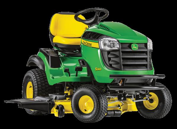 John Deere S240-48 riding lawn mower & tractor