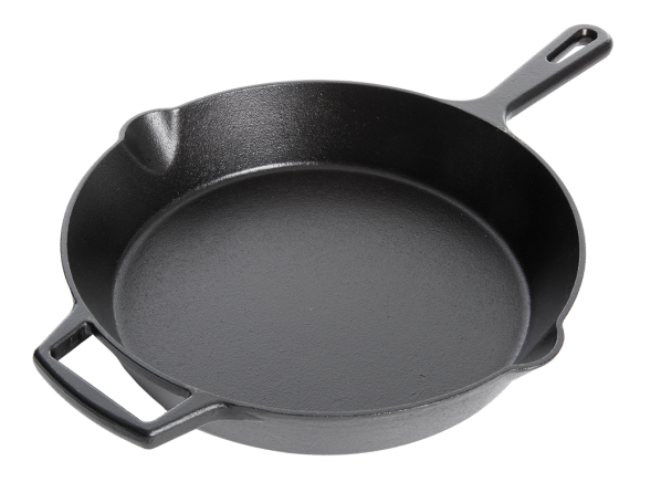 Artisanal Kitchen Supply Pre-Seasoned Cast Iron Skillet (Bed ...