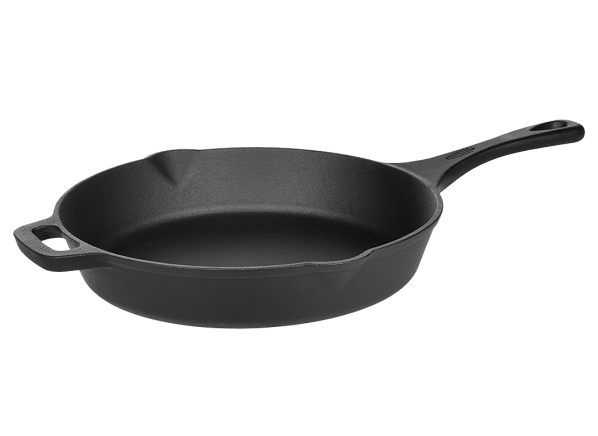 AmazonBasics Pre-Seasoned Cast Iron Skillet cookware