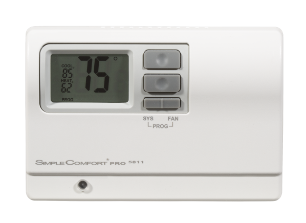 ICM Controls Simple Comfort SC5811 thermostat